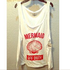 Mermaid 🧜🏼♀️ OFF DUTY Tank!